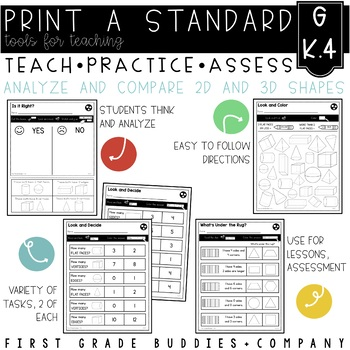 Print a Standard K.G.4 {Analyze and Compare 2D and 3D Shap
