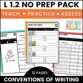 Print a Standard L 1.2  {Grammar: Capitalization and Punct