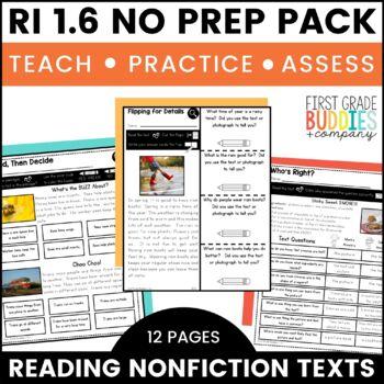 Print a Standard RI 1.6 {Distinguish Info. from Illustrati