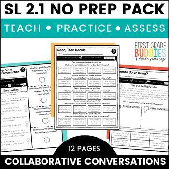 Print a Standard SL 2.1 {Collaborative Conversations} No P