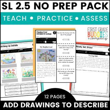 Print a Standard SL 2.5 {Add Drawings to Clarify Ideas} No