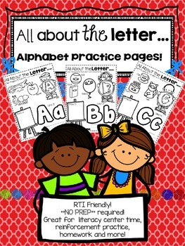 *PRINT AND GO* All About Letters