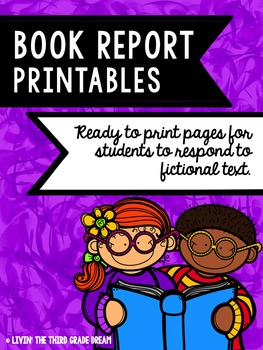 Print and Go Book Report