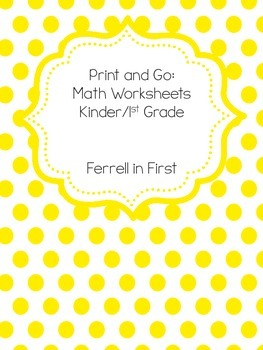 Print and Go Math Activities!