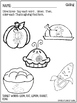 Print and Go Phonology Sheets for Thanksgiving
