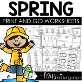 Print and Go! {Printables for Spring}