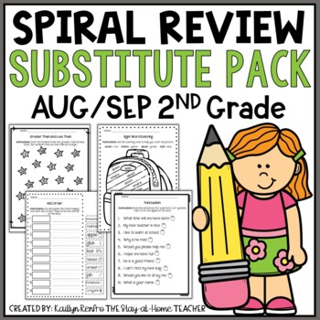Print and Go Substitute Pack - Aug/Sep Gd.2
