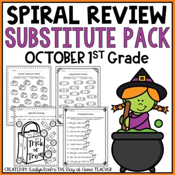 Print and Go Substitute Pack - Oct. Gd.1