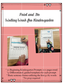 Print and Go Writing Practice