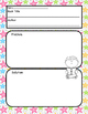 Print and Go! Written Response Templates