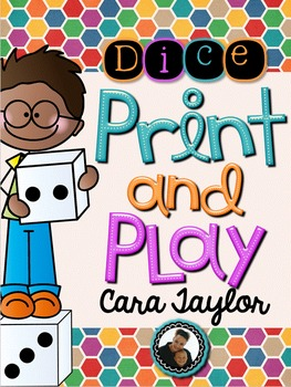 Print and Play with Dice ~ No Prep Printables