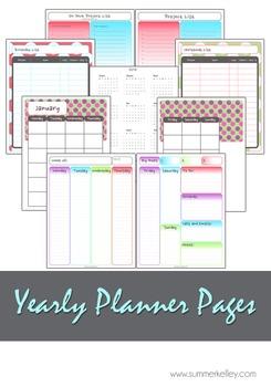 Printable 2016 Personal Planner