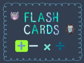 Printable Addition Flash Cards