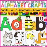 Printable Alphabet Letter Crafts BUNDLE