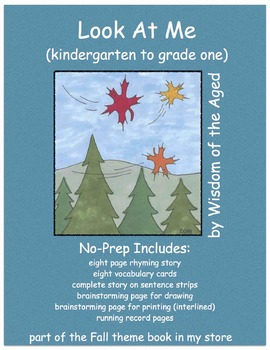 Autumn - No Prep - Printable Book with Activities