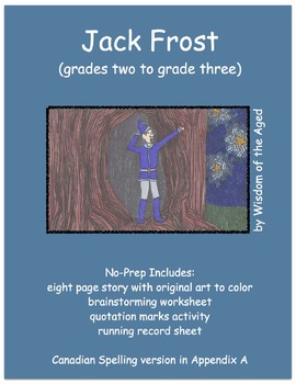 Autumn Reading - Printable Book - Jack Frost
