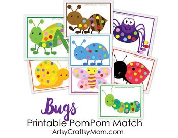 Bug Theme Pompom Match