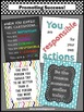 Class Rules & Inspirational Quotes Back to School Classroom Decor