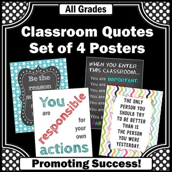classroom rules instant download printable posters