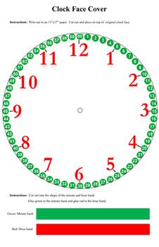 Printable Clock Cover