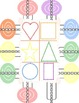 Printable Cutting and Colors Activity