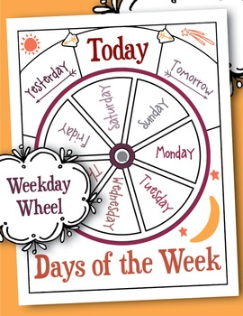 Printable Days of the Week Wheel