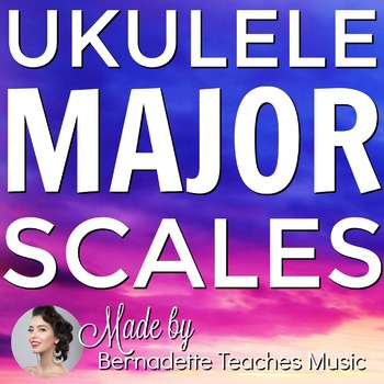Printable EBook - All Major Scales for Ukulele