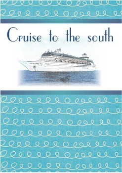 Printable ESL Book: Cruise To The South (5th-6th grade)
