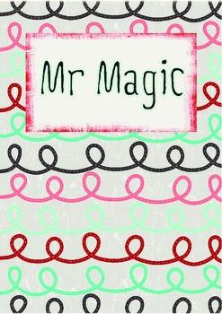 Printable ESL Book: Mr Magic (1st-2nd grade)