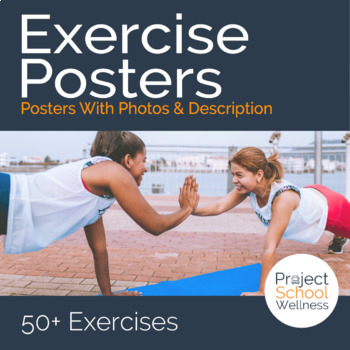 Exercise Posters (Health, PE, Fitness, Posters)