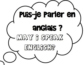 Printable French Common Classroom Expressions