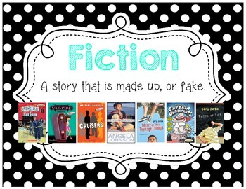 Genre Posters {12 Posters} Upper Grade, Black and White Po