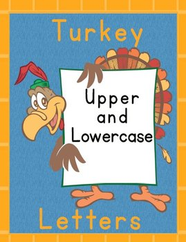Printable Grammar  Activities - Turkey Alphabet Upper & Lo