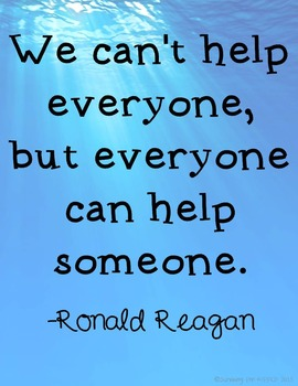 Printable Inspirational Quote - Ronald Reagan
