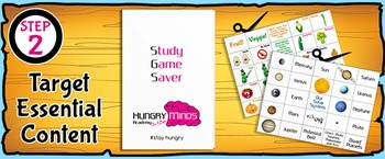 Printable Lessons - Ready for Game Cards