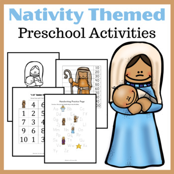 Printable Nativity Learning Pack