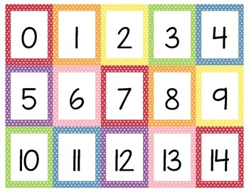 Printable Number Line from 0 to 100 - Mini Star Theme