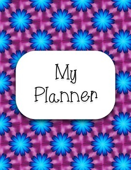 Printable Personal Planner