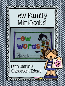 -ew Word Family Quick and Easy to Prep Printable Phonics R