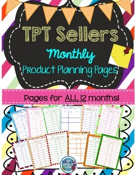 **FREE** Printable Planner {for TPT Sellers}