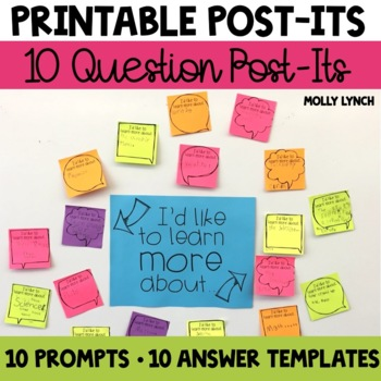 Printable Post-It Notes Reminders