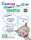 Printable Poster for Word of the Week: CHORTLE Literacy &