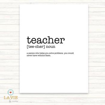 Printable Quote | Binder Cover | Printable Art | teacher (