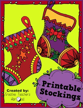 Printable Stockings