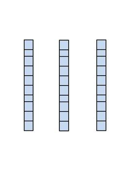 Printable Ten Sticks
