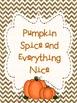 Printable Thanksgiving Decoration Poster Set