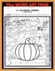 The Magic Pumpkin - Autumn Spanish number activity