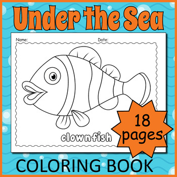Printable Marine Life Coloring Pages