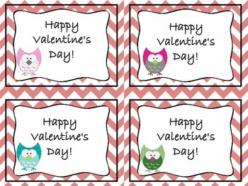 Printable Valentine's Day Cards FREEBIE