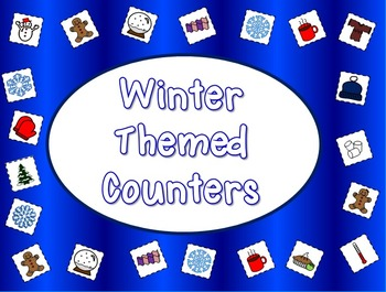 Printable Winter Counters